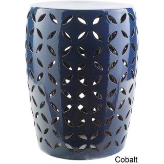 Kelsey Ceramic Indoor/ Outdoor Decorative Stool