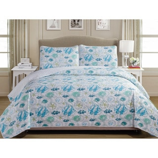 Panama Jack Taking a Dip 3-piece Quilt Set