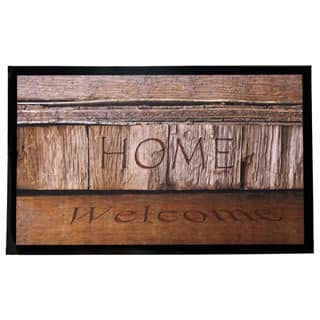 Home Fashion Designs Weaver Collection Welcome Home Indoor/Outdoor Non-slip Door Mat|https://ak1.ostkcdn.com/images/products/11854163/P18755025.jpg?impolicy=medium