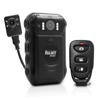 Pyle Vigilante Tracker Portable and Multifunctional HD Body Camera with GPS Tracking