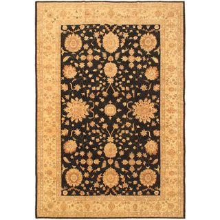 eCarpetGallery Beige Wool Chobi Hand-knotted Rug (12'0 x 17'7)
