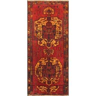 eCarpetGallery Classic Persian Red/Cream/Gold/Orange Wool and Cotton Runner Rug (4'3 x 12'10)