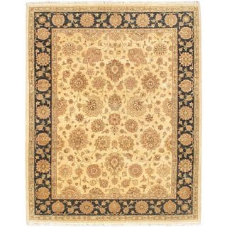 eCarpetGallery Chobi Hand-knotted Twisted Pink Wool Rug (8'2 x 10'0)