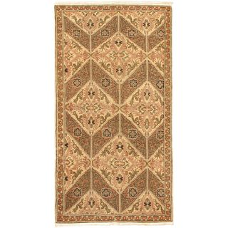 eCarpetGallery Anatolian Brown Wool Hand-knotted Antique Rug (3'1 x 6'2)