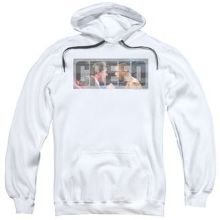 Creed/Pep Talk Adult Pull-Over Hoodie in White