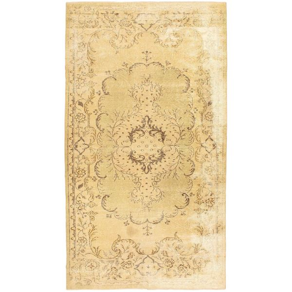 eCarpetGallery Hand-knotted Color Transition Beige Wool Rug (5'10 x 10'4)