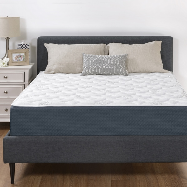 Select Luxury 12 Inch Queen Size Quilted Gel Memory Foam