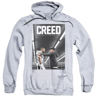 Creed/Poster Adult Pull-Over Hoodie in Heather