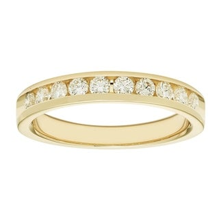 Boston Bay 14k Yellow Gold 1/2ct TDW Diamond Anniversary Band (H-I, I1-I2)