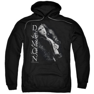 Vampire Diaries/Besides Me Adult Pull-Over Hoodie in Black