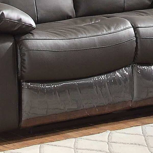 Stupendous Shop Ryker Leather Reclining Sofa And Loveseat 2 Piece Set Caraccident5 Cool Chair Designs And Ideas Caraccident5Info