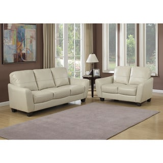Sawyer Contemporary Sofa and Loveseat 2-piece Set