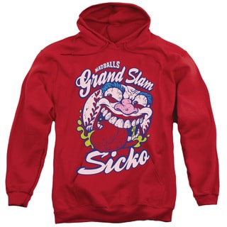 Madballs/Grand Slam Adult Pull-Over Hoodie in Red