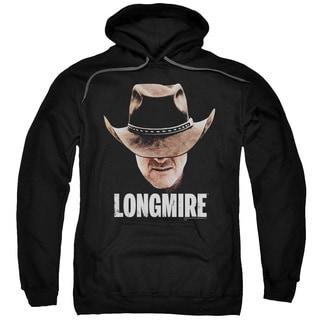 Longmire/Long Haul Adult Pull-Over Hoodie in Black