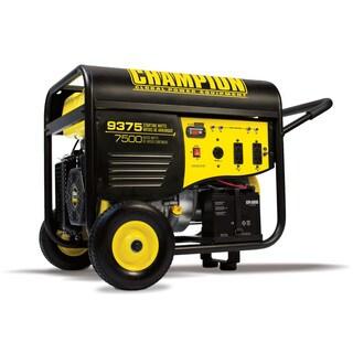 Champion Power Equipment 7500/9375-watt Portable Gas-powered Electric-start Generator