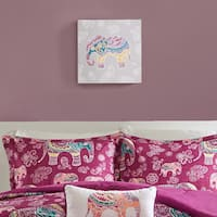Mi Zone Elly the Elephant Multi Gel Coated Canvas