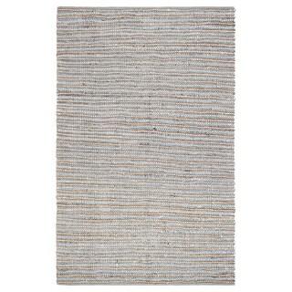 Jani Ella Leather Cotton and Jute Rug (5' x 7')