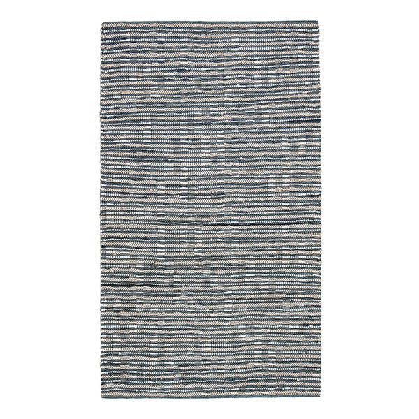 Jani Pia Leather Cotton and Jute Rug (4' x 6')