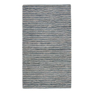 Jani Pia Leather Cotton and Jute Rug (5' x 7')