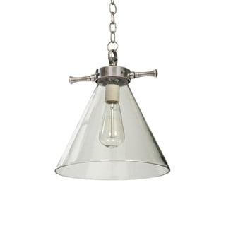 Parker 12-inch x 11-inch Pendant Light Fixture With 24-inch Chain