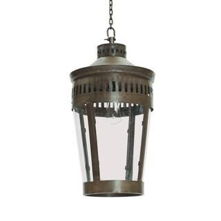 Hip Vintage Brown Iron Vintage-style Hanging Lantern (26 x 13)