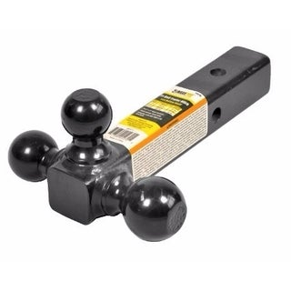 MaxxHaul Black Triple Ball Mount (Option: Black)