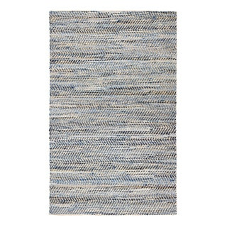 Jani Ely Denim and Jute Rug (5' x 7')