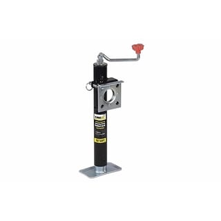 MaxxHaul 15-inch 2000-pound Capacity Ring Mount Trailer Jack With Top Wind