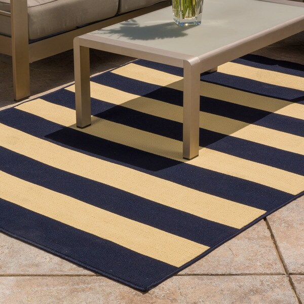 Christopher Knight Home Roxanne Avery Indoor Outdoor Navy