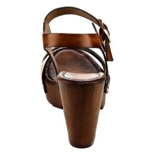 Beston EB37 Criss-cross Chunky Heels