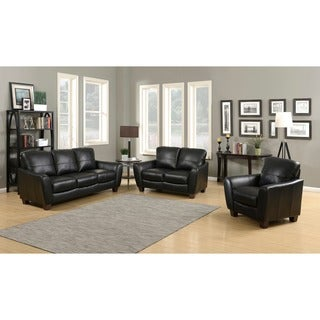 Sawyer 3-Piece Contemporary Sofa, Loveseat and Chair Set