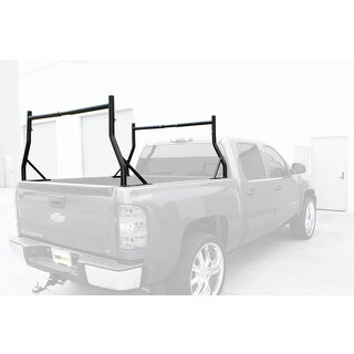 MaxxHaul Black Adjustable Pick-up Truck Rack