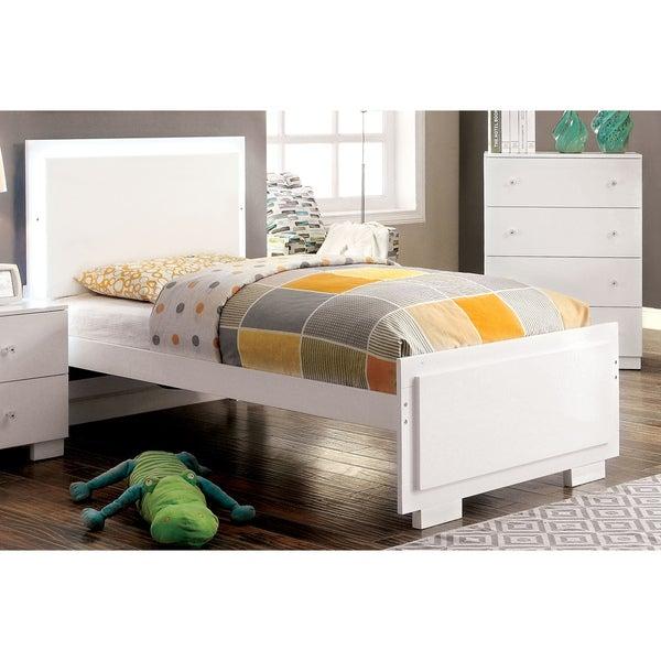 Shop Furniture Of America Isobelle Modern White Platform