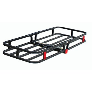 MaxxHaul Black Stainless Steel 53-inch x 19.5-inch 500-pound Capacity Compact Cargo Carrier