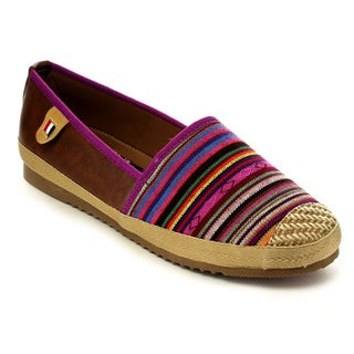 Beston Women's Multicolored Slip-on Flats