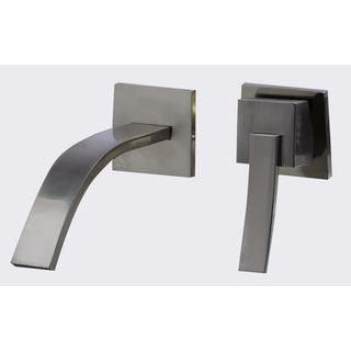 ALFI AB1256 Brushed Nickel Single-lever Bathroom Faucet