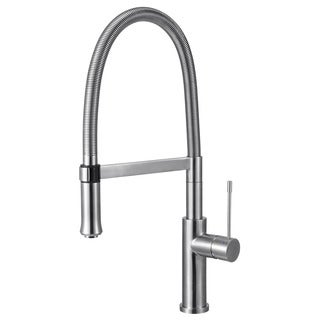ALFI AB2015 Brushed Single-hole Gooseneck Faucet