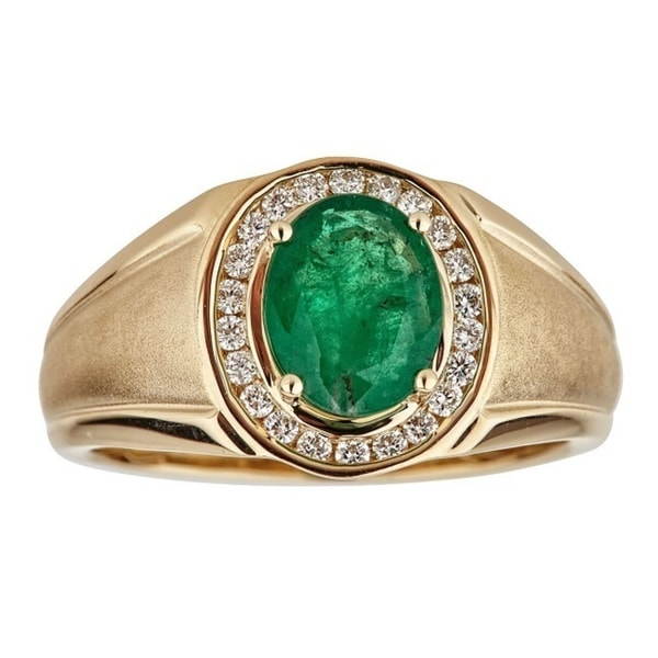 15 Best Emerald Ring Designs For Women And Men