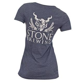 Stone Brewery Women's V-neck Shirt