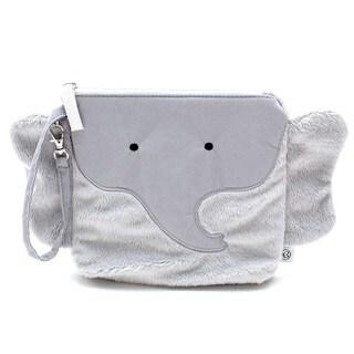 Nikiani Pebbles/Grey Plastic Elephant Snack Bag