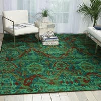 Nourison Timeless Turquoise Rug - 9'9 x 13'