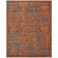 Nourison Timeless Teal Rug (9'9 x 13') - 9'9 x 13'