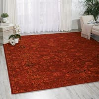 Nourison Timeless Red Rug - 9'9 x 13'