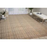 Nourison Silken Allure Grey Rug (9'9 x 13'9) - 9'9 x 13'9