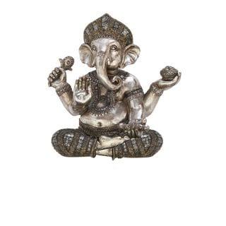 Multi-Colored Poly Synthentic Shelf Ganesha