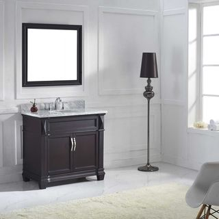 Virtu USA Victoria 36-inch Single Bathroom Vanity Set with Faucet