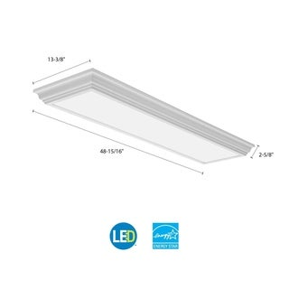 Lithonia Lighting FMFL 30840 CAML WH LED 4 ft. White Linear Light