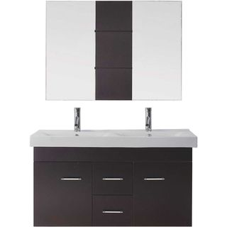 Virtu USA Opal 48-inch Double Bathroom Vanity Set