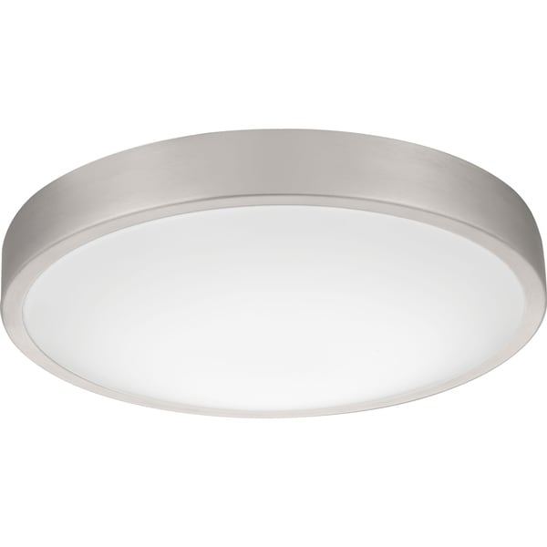 Lithonia lighting fmlacl 14 20830 ba m4 lacuna led 3000k flush mount brushed aluminum 14