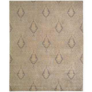 Nourison Silk Infusion Grey Rug (9'9 x 13'9)